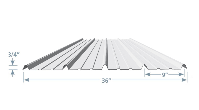 Roofing Profiles Amp Classic Ag Panel Profile 26 Or 29